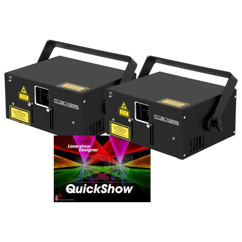 Club Lasers: Series 1.5 Combo Package